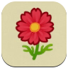 Red Cosmos Icon