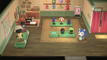Able Sisters Store Interior