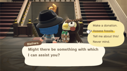 Blathers at the Museum