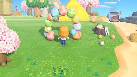 ACNH - Bunny Day DLC Items