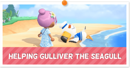 Helping Gulliver the Seagull