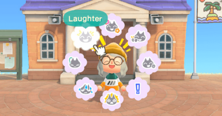 Animal Crossing New Horizons (ACNH) List of Reactions