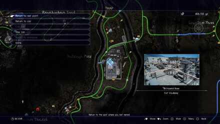 Fort Vaullerey map