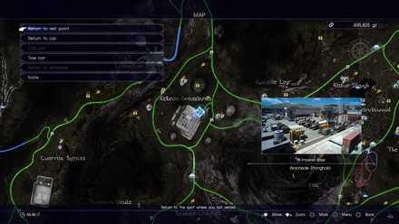 Aracheole Stronghold map