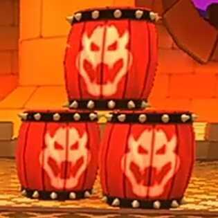 Barrel Bombs (Bowser