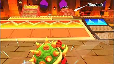 Combo Area (Bowser