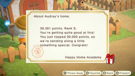 Happy Home Academy Letter