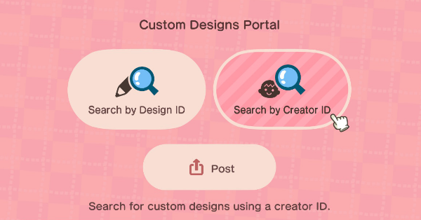 Custom Designs Portal How To Share Custom Designs Online Acnh Animal Crossing New Horizons Switch Game8