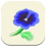 Blue Pansy Icon