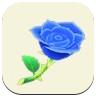 Blue Rose Icon