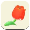 Red Tulip Icon
