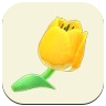 Yellow Tulip Icon