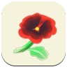 Red Pansy Icon