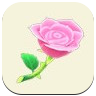 ACNH Pink Rose Icon