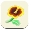 Yellow Pansy Icon