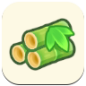 Young Spring Bamboo Icon