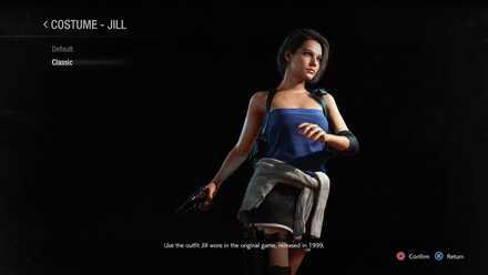 Jill classic costume