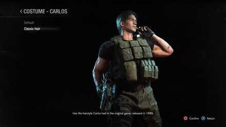 Carlos classic costume
