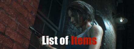 List of Items