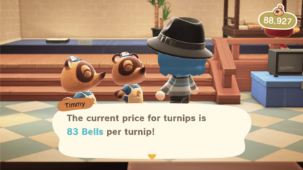 Turnip Price Before Noon