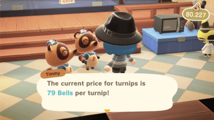 Turnip Price After Noon