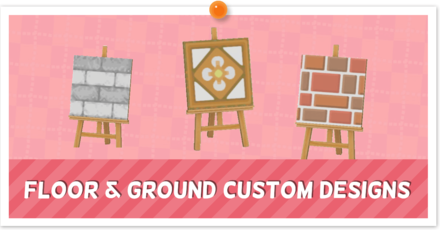 ACNH - Custom Designs - Ground and Paths
