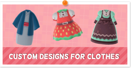 ACNH - Custom Designs - Clothes