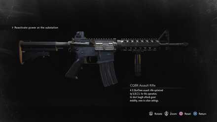 CQBR Assault Rifle image