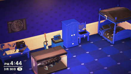 Blue Cute Furniture Series Room