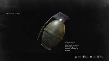 Hand Grenade image