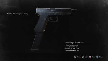 G18 Handgun (Burst Model) image