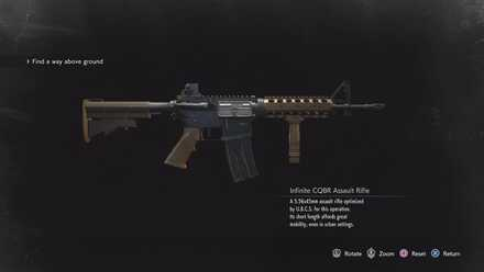 Infinite CQBR Assault Rifle image