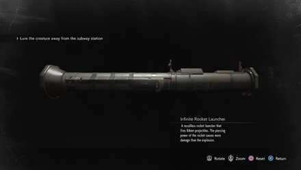 Infinite Rocket Launcher How To Get And Use Resident Evil 3