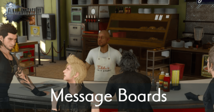 FFXV_Message Board banner