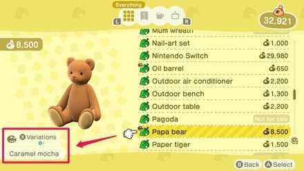 Papa bear color variations.jpg
