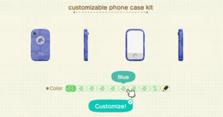 How To Customize Your Furniture Phone And Tools Acnh Animal