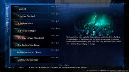 Post Game Content New Game Plus And How To 100 Clear The Game Ff7 Remake Game8