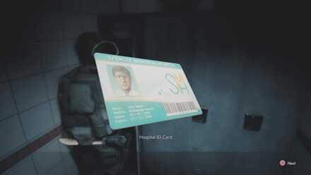 Hospital ID Card