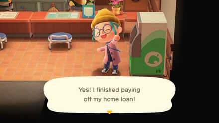 ACNH - Paid off loan