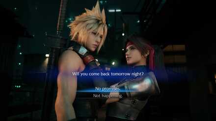 Jessie Tomorrow Night Dialogue Choices