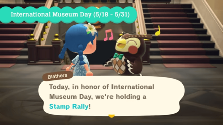 Blathers introduces International Museum Day