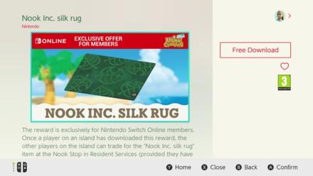Nook Inc Silk Rug DLC