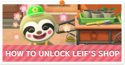How to Unlock Leif