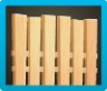 Vertical-Board Fence Icon