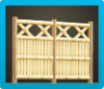 Bamboo Lattice Fence Image