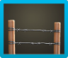 Barbed-Wire Fence Icon