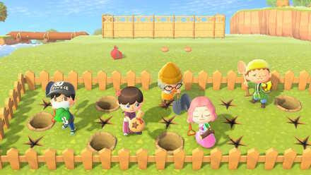Best friends using shovels.jpg