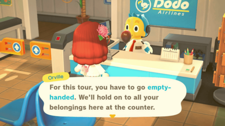 No Items on the May Day Tour