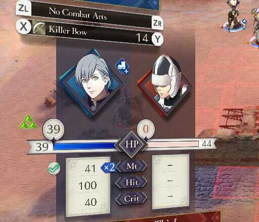 FE3H Double Attack