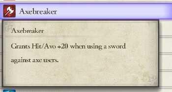 Axe Breaker
